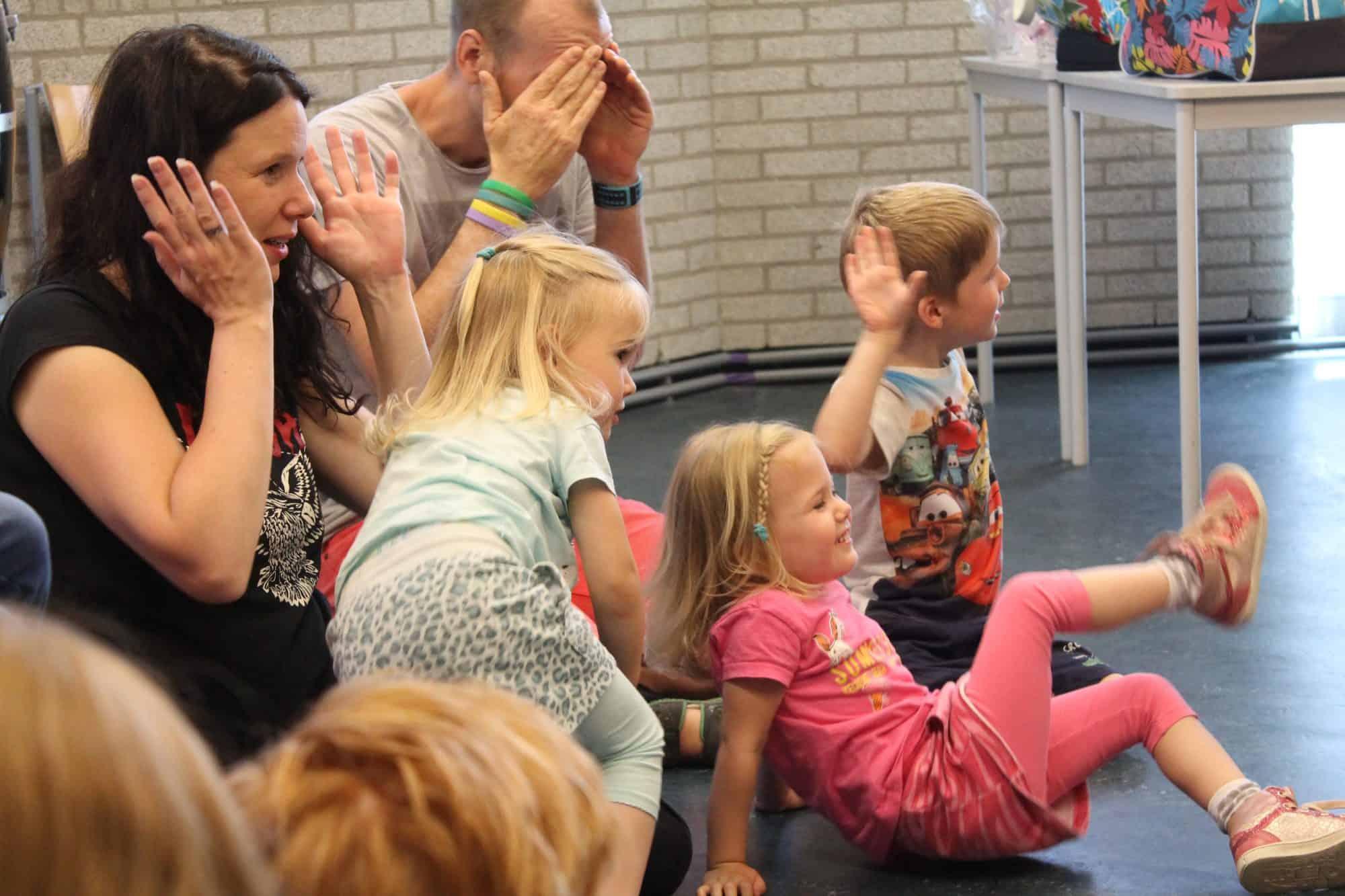 Muziek op schoot - Muziekschool Waterland