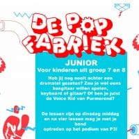 Popfabriek Junior - De Popfabriek