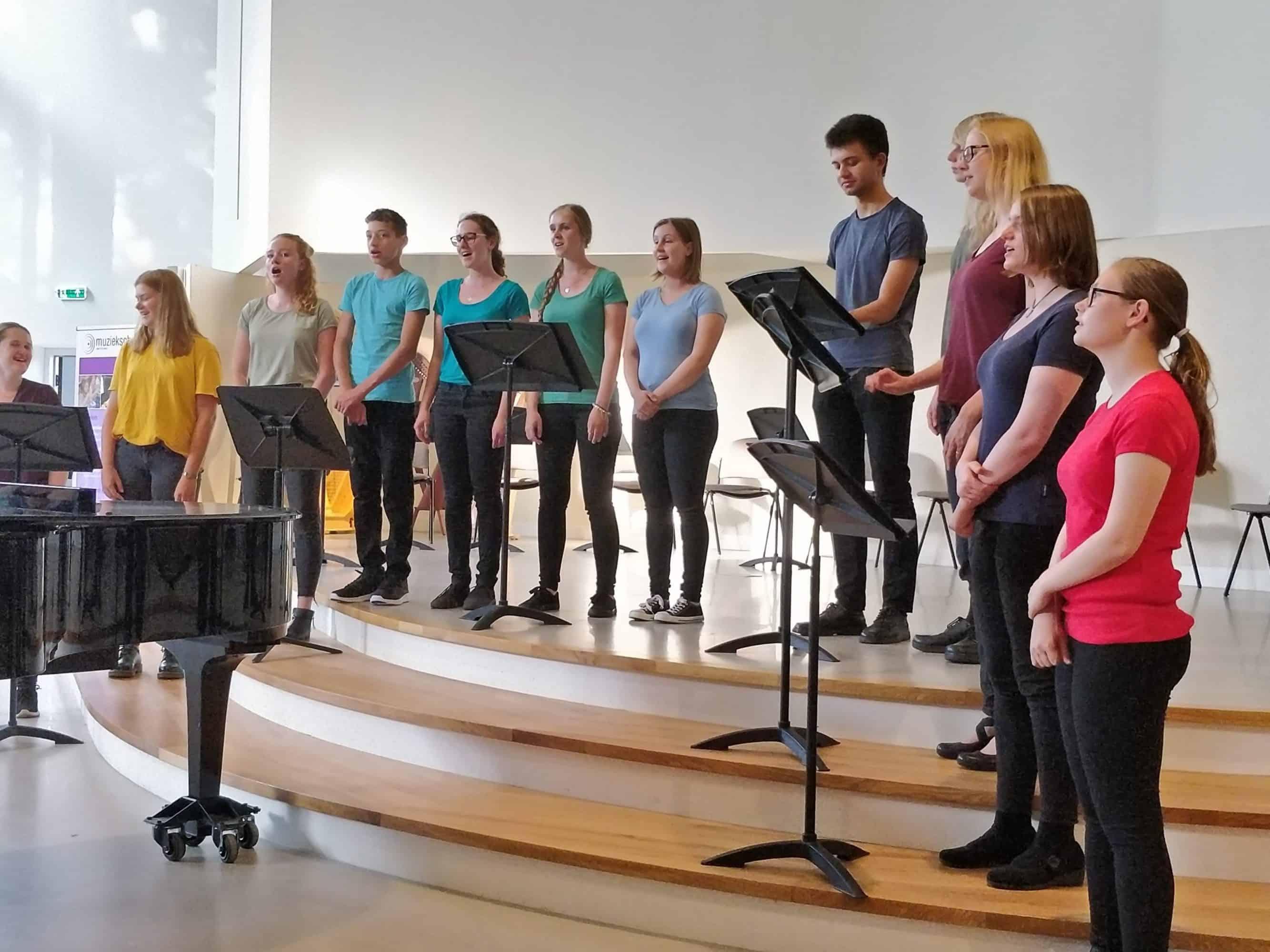koor The Classics Muziekschool Waterland