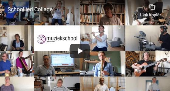 Schoollied Muziekschool Waterland